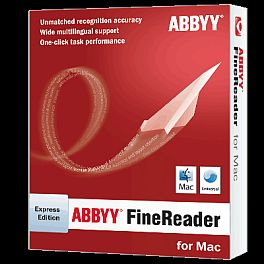 ABBYY FineReader Macintoshra is