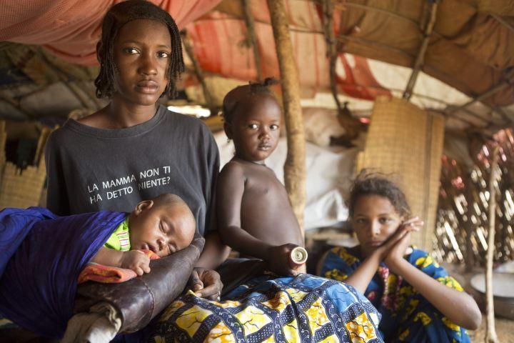 Burkina Fasóból menekültek.