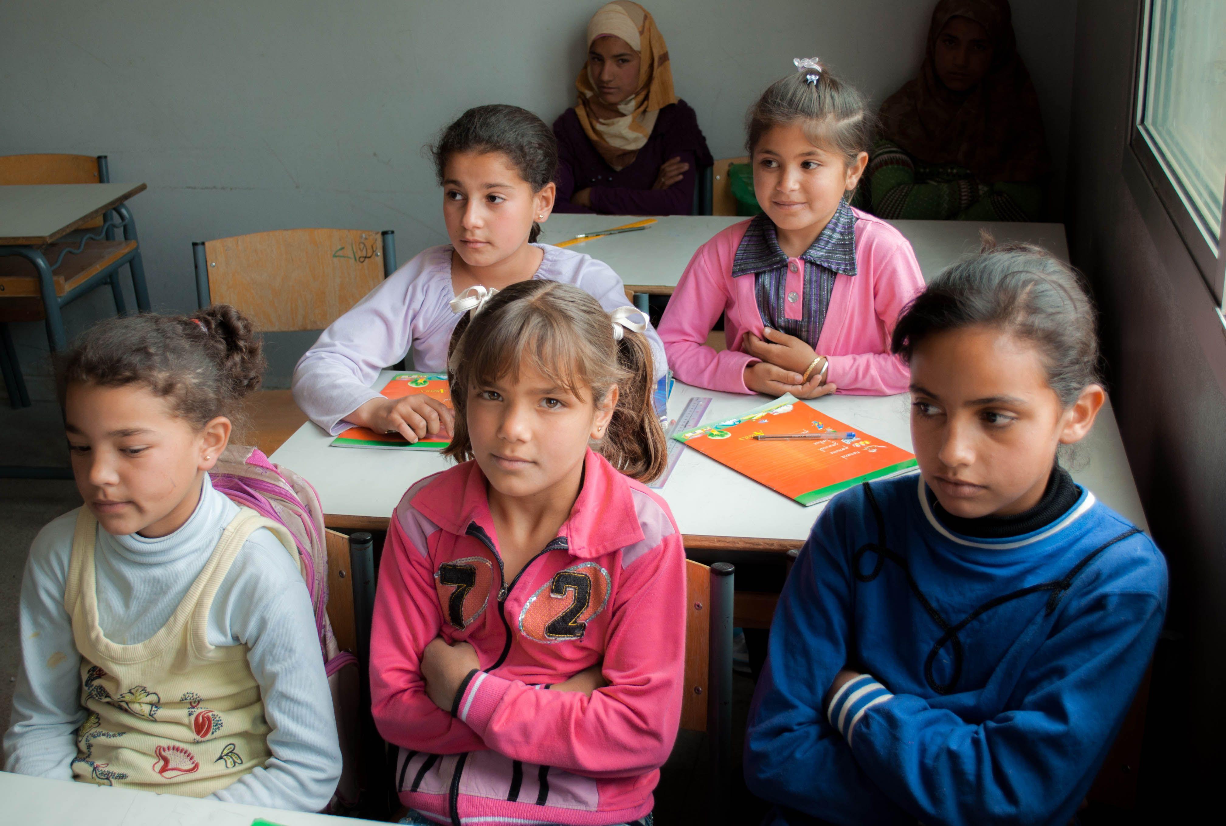 Jobb sorsra érdemes palesztin gyerekek.