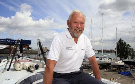 Sir Robin Knox Johnston (kép: telegraph.co.uk).