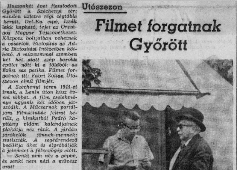 Az újságíró archívumából – Páger menekül